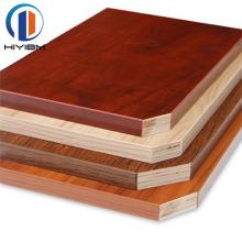 HIYI Commercial melamine plywood waterproof hardwood plywood for decoration
