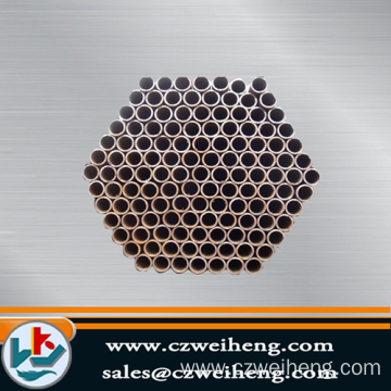Erw Steel black painted round pipe
