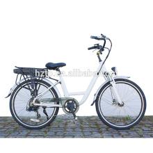 Motor de la rueda del vendedor superior bicicletas eléctricas pedelec sistema asistido por pedal e bici de la ciudad bicicleta