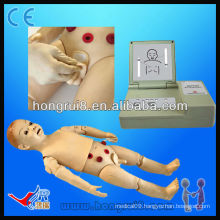 ISO Full-functional one-year-old Child Nursing Manikin, child medical manikins