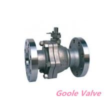 Entrada lateral 2PCS válvula de bola flotante con bridas (GQ41F)