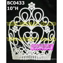 large classic crystalbig tiara
