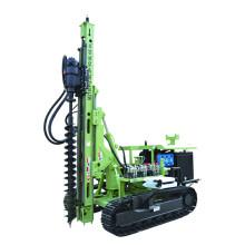 Máquina de cravação de estacas de parafuso de solo