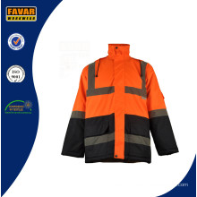 Winter High Vis Themal Waterproof Jacket