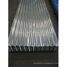 Chapa de techo chapa de acero galvanizado chapa corrugada