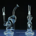 Wholesale Glass Water Pipe for Tobacco with Inline Recycler (ES-GB-018)