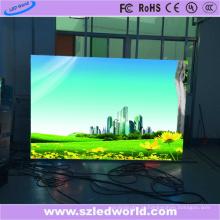 Fábrica de propaganda fixada de alta definição do painel da tela de diodo emissor de luz da cor completa alugado da definição (P1.56, P1.66, P1.92, P2.5)