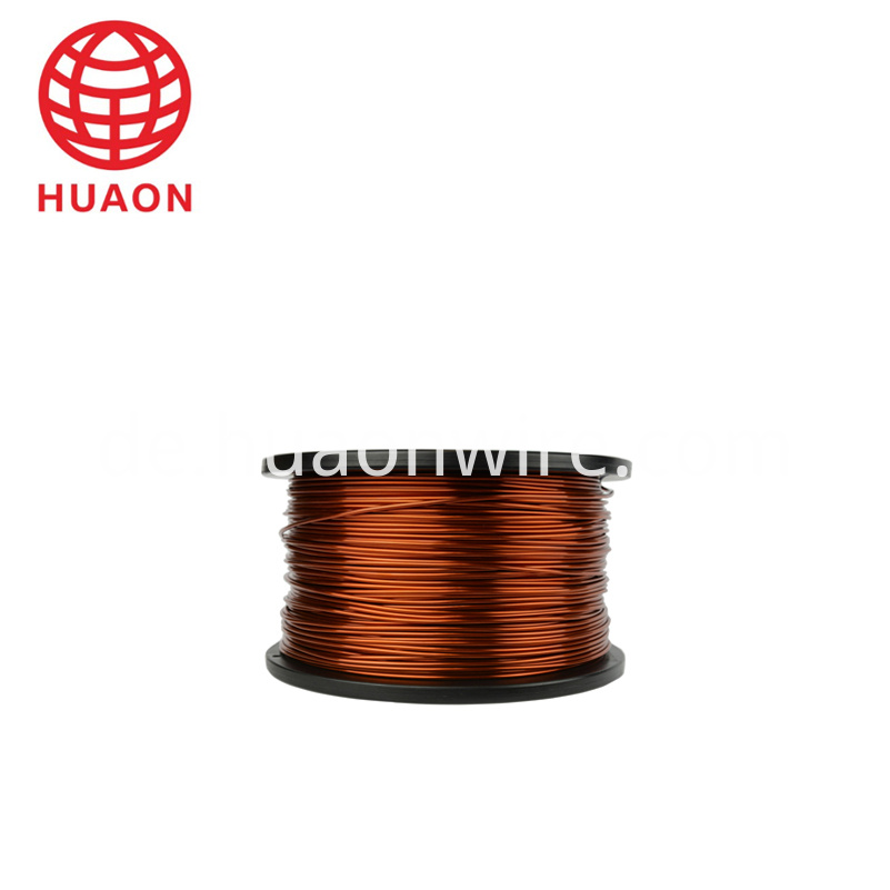 Square wire with insulation copper wire