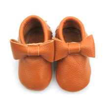Wholesales Leather Baby Girl Shoes Mocassins