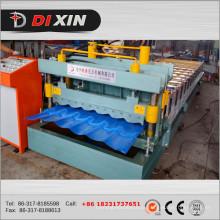 Máquina de formação de rolo de telhado Dx 1100