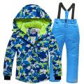 Abrigo para niños Traje de esquí Cálido