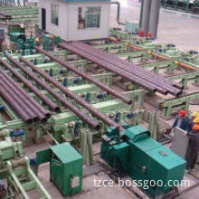 Pipe chamfering and facing machine for seamless pipe finishing line with advanced technology