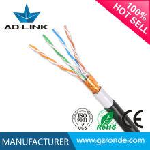 Cable de red de alta calidad cat 5 enterramiento subterráneo al aire libre