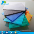 10-year warranty polycarbonate greenhouse siding transparent roof plastic outdoor panel sheet