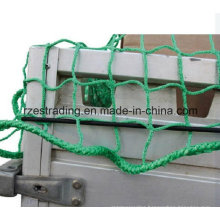 PP Light Green Cargo Nets for Trailer/Ladungssicherungsnetz