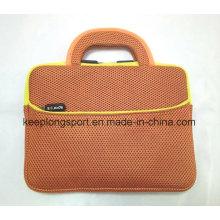 Neoprene à la mode Add Mesh Material Laptop Bag with Handle