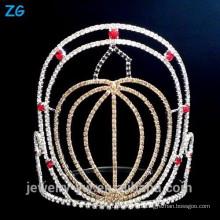 Хэллоуинская корона из тыкв, корона для торжеств на Хэллоуин, корона Хэллоуина Тыквы