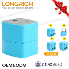 2017 Lognrich UK/EU/US/AUS universal Travel Adapters for retail stores
