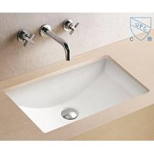 Lavabo para baño Lavabo para manos Rectangular Arte Lavabo de cerámica