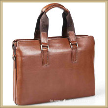 Mens Leather Portfolio Genuine Leather Bag Men Briefcase