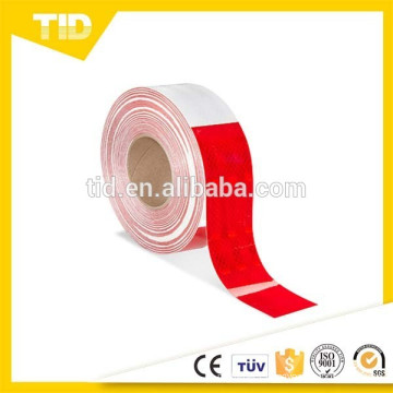 Vehicle-white red Safety Tape