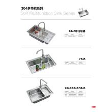 Edelstahl-Spüle für Küche