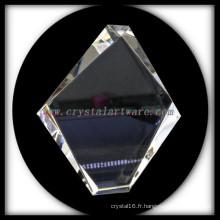 K9 Le cristal haute qualité Photo cristal blanc Iceberg