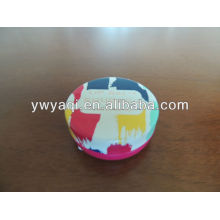 Cheap 15g Round Iron Tin Lip Balm Different Favor
