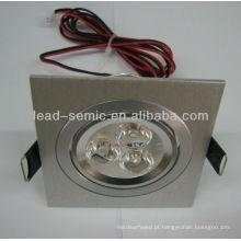 Quadrado led downlight 3 * 3W / 3 * 2W decorativos