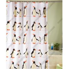 Le rideau de douche Penguin Pattern