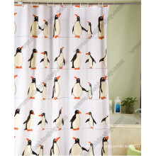 The Penguin Pattern Shower Curtain