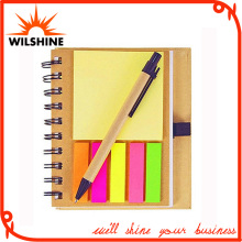 Custom Cheap Hardcover Sticky Note Pad for Promotion (NP103)