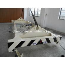 Épandeur de récipient semi-automatique à chaud de 20 et 40 pieds