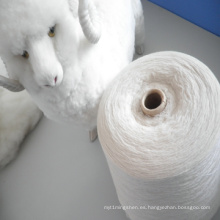 Nm2 / 26 100% de lana de cachemira teñido de hilo para hacer punto