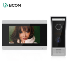 Bcom Wired Visual Intercom System, Wi fi 7 Inches Video Doorbell Videoportero Door Phone System
