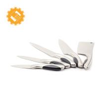 Couteau de haute qualité en acier au carbone avec manche en acier au carbone