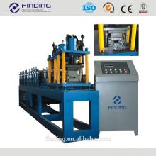 Hangzhou galvanizado frame de porta de metal aço fazendo a porta da máquina do slat rolo porta de armação de metal dá forma à máquina