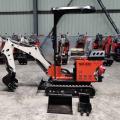 Hot Sale Neu gestaltete Grabmaschine Multifunktionskleiner Mini 0,8 Tonnen hydraulischer Raupenbagger