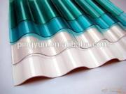 polycarbonate garden shed green house FRP sheet translucent roof tiles UV resistant plastic materials