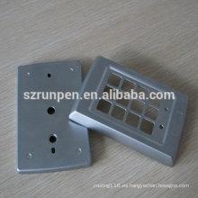 Estampado de piezas de la placa del anillo de la puerta de aleación de zinc