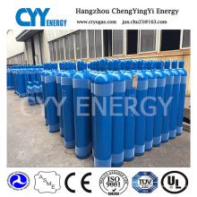 50L Helium Oxygen Nitrogen Lar CO2 Hydrogeen 150bar / 200bar Cylindre à gaz en acier sans soudure