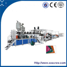 Máquina para fabricação de placa plástica CE