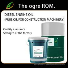 Huile pure d'huile de moteur diesel pour les machines de construction