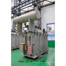 110kv China Transformador de potencia de distribución de aceite de inmersión Fabricante