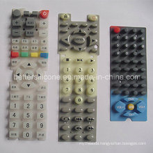 Elastic Silicone Rubber Epoxy Coated Keypad