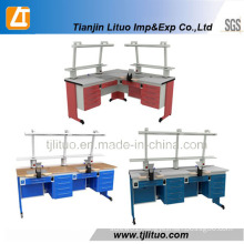 Many Different Kinds Two Workstations Dental Lab Benches