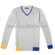 12STC0718 модный пуловер 100% хлопок мальчик свитер