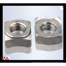 Porca de solda DIN928 de aço inoxidável