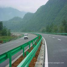 Powder Coated Highway W-Beam Corrugated Beam Guardrail