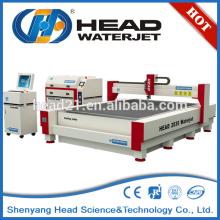 Máquinas para la venta máquina de corte por chorro de agua tamaño de la cama 2000 * 3000